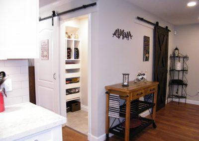 Barn Doors and hardware, black wrot iron